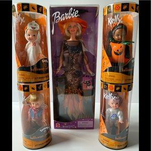 Barbie & Kelly Halloween Doll Lot